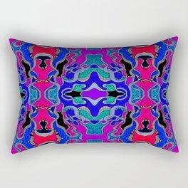 Kaleidosnake Rectangular Pillow
