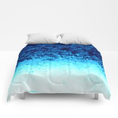 Blue Crystal Ombre Comforters