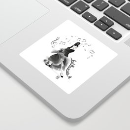 Flamenco dancer Sticker