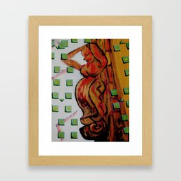 Gracious Burden Framed Art Print