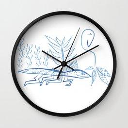 Two naives Wall Clock