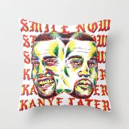 Smile Now Pablo Later Throw Pillow