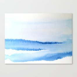 Abstract Stream Canvas Print