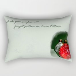 LovePotion or ForgetPotion  Rectangular Pillow