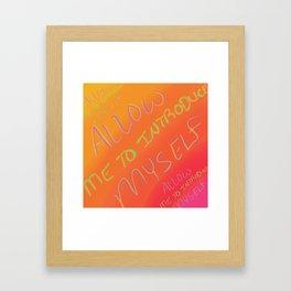 Introduction Framed Art Print