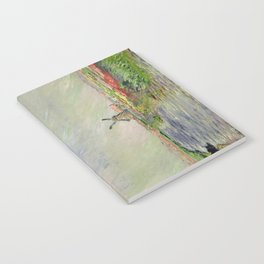 Monet, Tulip Field in Holland, 1886 Notebook