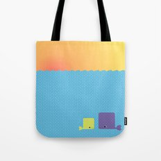 Having a whale of a time Tote Bag
