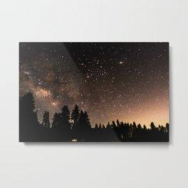 Idyllwild Stars Metal Print
