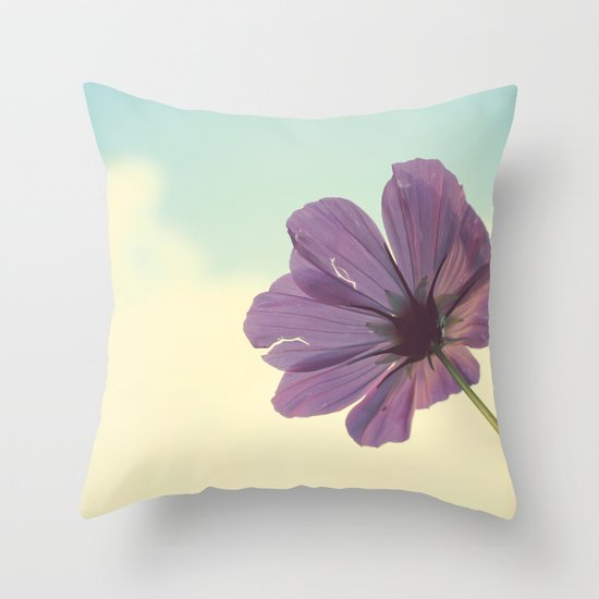 Torn but Never Broken Throw Pillow