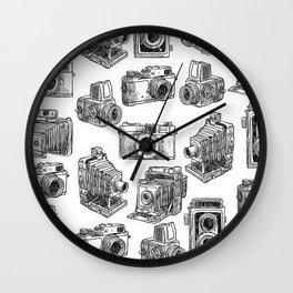 Photographic Machines Wall Clock