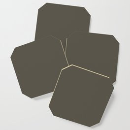 Grape Leaf Coaster