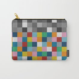 Colour Block with Topper #2 Carry-All Pouch