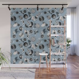 Space pattern. Wall Mural
