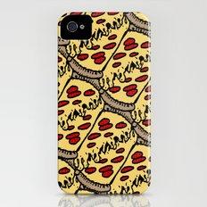 pattern pizza Slim Case iPhone (4, 4s)