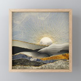 Morning Sun Framed Mini Art Print