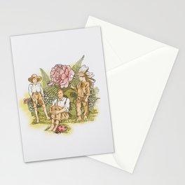 Cowboys, indians and ladybugs Stationery Cards