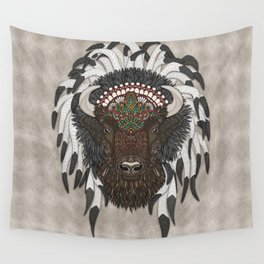 American Bison Wall Tapestry