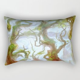 Wooded Foothills Rectangular Pillow