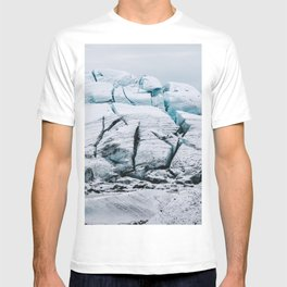 Glacial World of Iceland - Landscape Photography T-shirt