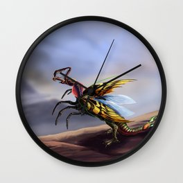 Chimera Of Death Wall Clock