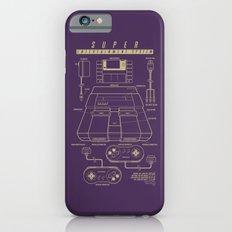 Super Entertainment System (dark) iPhone 6s Slim Case