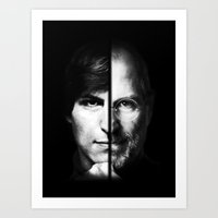 steve jobs Art Prints featuring Steve Jobs by TofiqHuseynov
