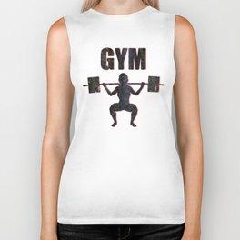 Gym Female Weightlifter Biker Tank