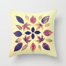 Leafdala Throw Pillow