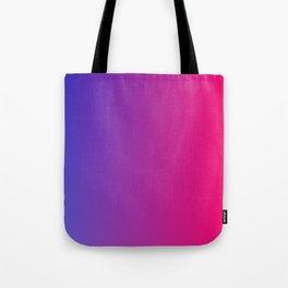 blue pink fade Tote Bag
