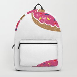Donut Glazed and Confused Shirt - Funny Donut T-Shirts Backpack