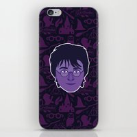 harry iPhone & iPod Skins featuring Harry by Kuki