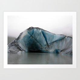 Valdez Glacier Art Print