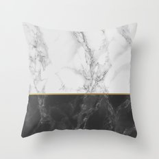 Marble #4 Throw Pillow