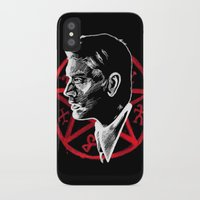 supernatural iPhone & iPod Cases featuring Supernatural by Grace Mutton