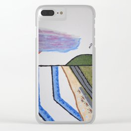 Zuma Beach, Malibu Clear iPhone Case