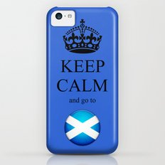 KEEP CALM Scotland Slim Case iPhone 5c