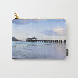 Hanalei Bay Pier at Sunrise Carry-All Pouch