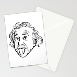 Albert Einstein Artwork With his famous photo showing tongue, Tshirts, Prints, Posters, Bags Stationery Cards