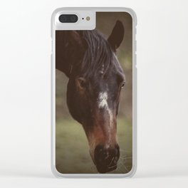 Horsey Clear iPhone Case
