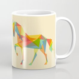 Fractal Geometric Unicorn Coffee Mug