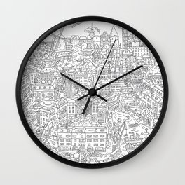 My unoriginal EU Wall Clock