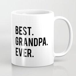 GRANDPA GIFT Typography Print Birthday Gift Best Grandpa Inspirational Quote Wall Art PRINTABLE Coffee Mug