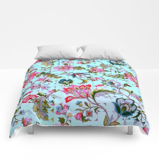 ancient floral Comforters
