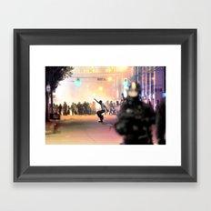 Napoleon Riot Framed Art Print