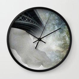 the walking bridge Wall Clock