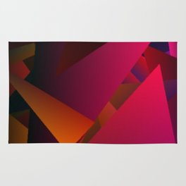 Smoke Screen Abstract 7 Rug