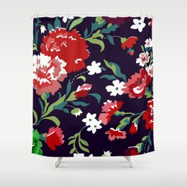 VAMPIRE WEEKEND FLORAL VECTOR Shower Curtain