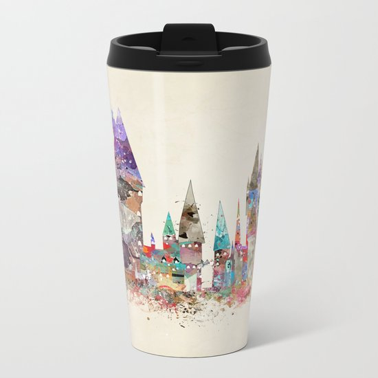 hogwarts school of magic Metal Travel Mug