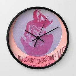 Mantra-Rock Dance Poster, 1967 Wall Clock