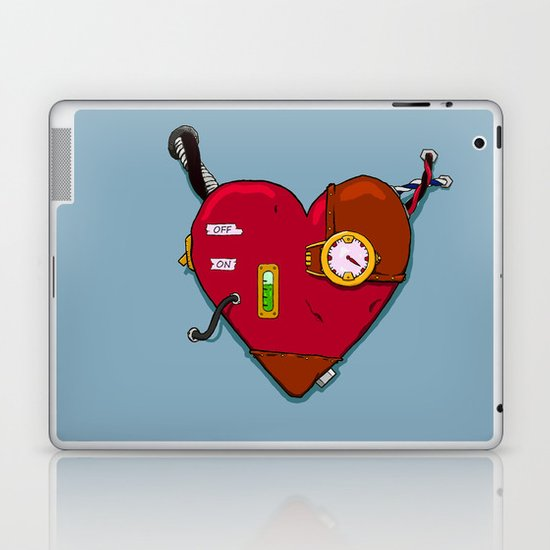 Robot Heart Laptop & iPad Skin